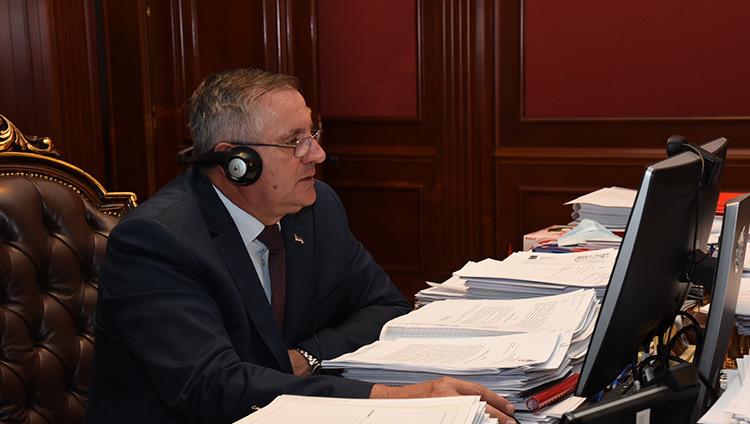 premijer radovan viskovic video sastanak
